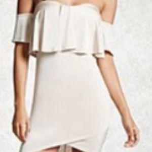 Forever 21 Off-shoulder mini dress